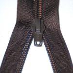 Brown thin zip-1