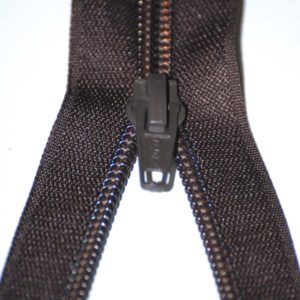 Brown thin zip-1